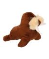 Pluche knuffel walrus 14 cm