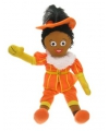 Zwarte piet pop oranje 60 cm